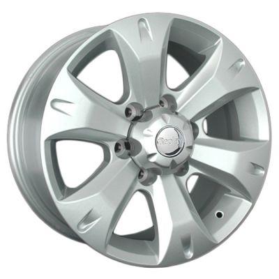Колесный диск Replica Реплика TY190 7.5x17/6x139.7 D106.1 ET25 Silver