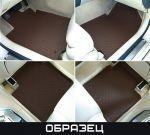 StarDiamond Коврики салона MB W220 SE/ W140 SE коричневые (3 части) сплошные задки STR69-00013