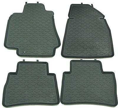 StarDiamond Коврики салона Nissan Tiida 2006-> с бортиками серые (4 части) ST 69-00105