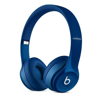 Наушники с микрофоном Apple Beats by Dr. Dre Solo2 Blue MHNM2ZM/A