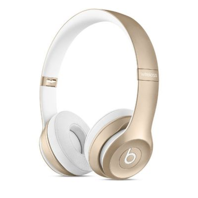 �������� � ���������� Apple Beats by Dr. Dre Solo2 Gold MKLD2ZM/A