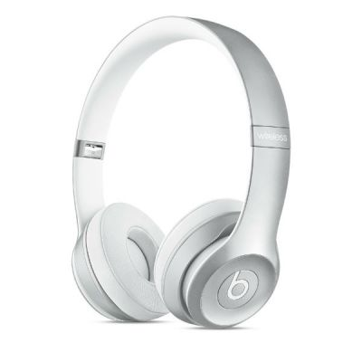 Наушники с микрофоном Apple Beats by Dr. Dre Solo2 Silver MKLE2ZM/A