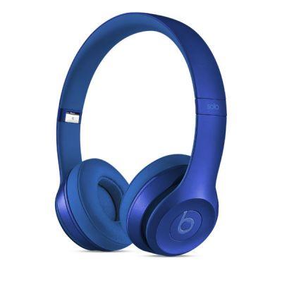 Наушники с микрофоном Apple Solo2 от Beats by Dr. Dre (Royal Collection) Sapphire Blue MJW32ZM/A
