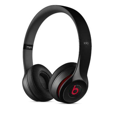 Наушники с микрофоном Apple Beats Solo2 On-Ear Headphones Black MH8W2ZM/A