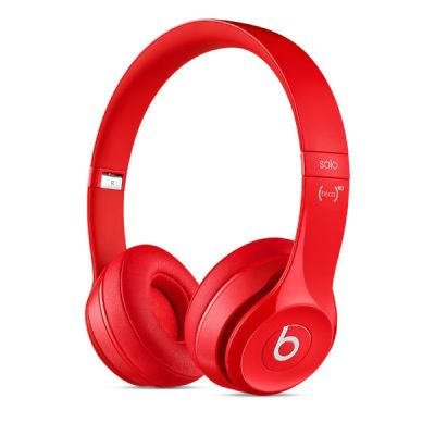 �������� � ���������� Apple Beats Solo2 On-Ear Headphones Red MH8Y2ZM/A