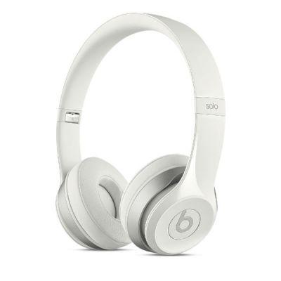 Наушники с микрофоном Apple Beats Solo2 On-Ear Headphones White MH8X2ZM/A