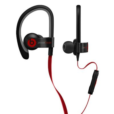 Наушники с микрофоном Apple Beats Powerbeats2 Black MH762ZM/A