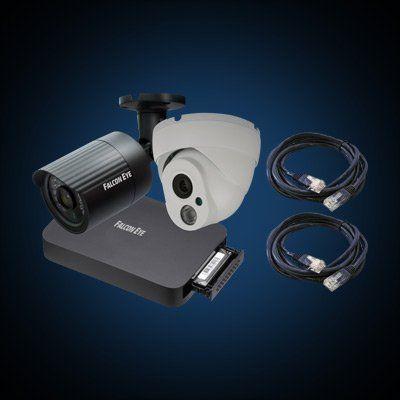 Комплект видеонаблюдения Falcon Eye FE-IP Galaxy 8.4