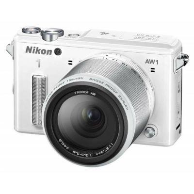 Зеркальный фотоаппарат Nikon 1 AW1 Kit White VVA203K001