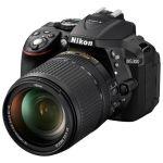 "Зеркальный фотоаппарат Nikon D5300 Kit Black 24.1Mpix 18-55VRII 3"" 1080p SDHC turLCD VBA370K003"