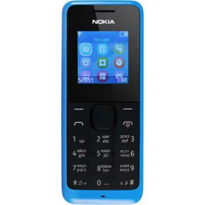 Телефон Nokia 105 Dual sim Blue A00025709