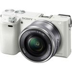 Беззеркальный фотоаппарат Sony ILCE A5000LW White ILCE5000LW.CEC