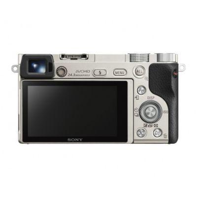Беззеркальный фотоаппарат Sony ILCE A6000LS silver ILCE6000LS.CEC
