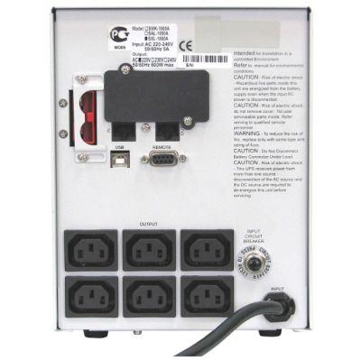 ИБП Powercom Smart King XL SXL-1000A-LCD