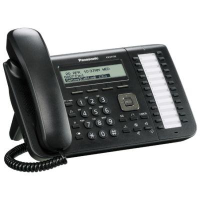 Телефон Panasonic VoIP KX-UT133RU-B Black