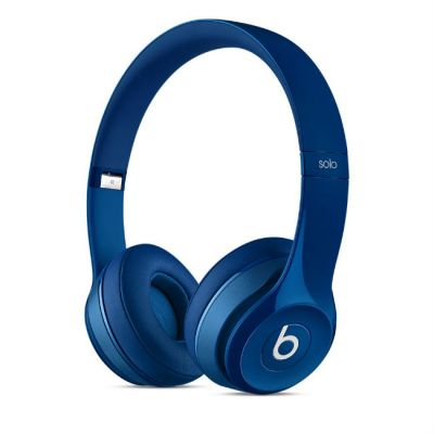 Наушники с микрофоном Apple Beats Solo2 On-Ear Headphones Blue MHBJ2ZE/A , MHBJ2ZM/A