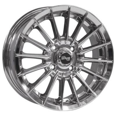Колесный диск Tech Line 302 5.5x13/4x98 d58.6 ET28 Silver