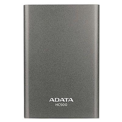 Внешний жесткий диск ADATA HC500 500Gb титан AHC500-500GU3-CTI