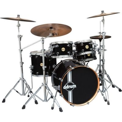 ������� ��������� Ddrum Paladin Maple (Player), Piano Black PMP 522 PBLK