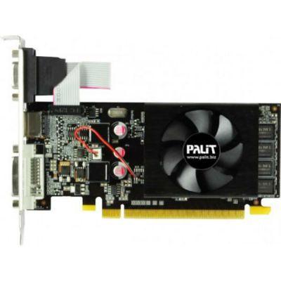 Видеокарта Palit PCI-E PA-210-1GD3 nVidia GeForce 210 1024Mb 64bit DDR3 DVIx1/HDMIx1/CRTx1/HDCP oem NEAG2100HD06-1196F BULK
