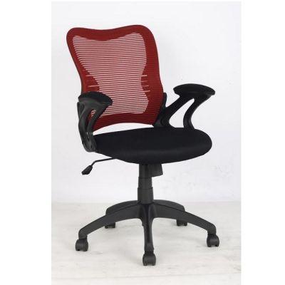 Офисное кресло Staten COLLEGE HLC-0758F Черный-красная сетка