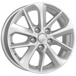 Колесный диск K&K КС658 (16_Corolla E18) 6.5x16/5x114.3 D60.1 ET45 сильвер (Арт. произв. 34544) 00056412 (WHS104980)