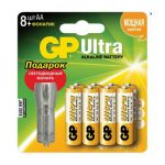 Батарейки GP Ultra Alkaline 24AU/FT (+ фонарик) LR03 706652