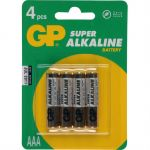 Батарейки GP Super Alkaline 24A LR03 558934