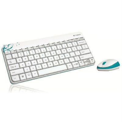 Комплект Logitech Wireless Combo MK240 White 920-005791