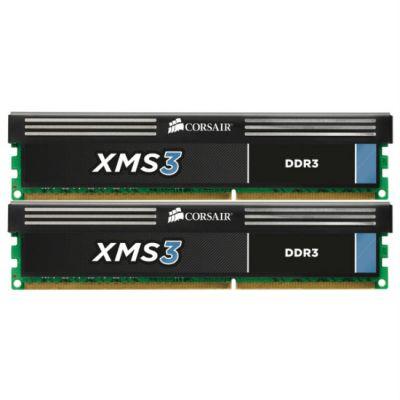 Оперативная память Corsair DDR3 8Gb 2000MHz,Corsair 2x4Gb 9-10-9-27,XMS3 Classic,Core i5,i7 CMX8GX3M2A2000C9