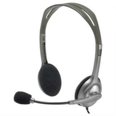 Наушники с микрофоном Logitech Headset H110 Stereo 981-000271