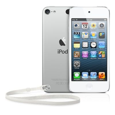 Аудиоплеер Apple iPod Touch 5G 16Gb WHITE & SILVER MKH42RU/A