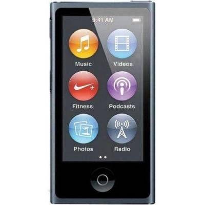 Аудиоплеер Apple iPod nano 7 16GB Space Gray MKN52RU/A