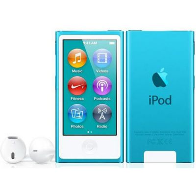 ���������� Apple iPod nano 7 16GB Blue MKN02RU/A