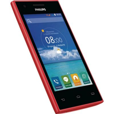 �������� Philips S309 4Gb Red 8712581735333