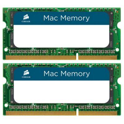 Оперативная память Corsair DDR3L 1600 (PC 12800) SODIMM 204 pin, 2x8 Гб, 1.35 В, CL 11 CMSA16GX3M2A1600C11