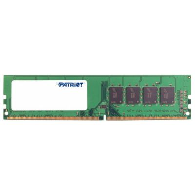 Оперативная память Patriot DDR4 4Gb 2133MHz Patriot unbuffered Ret PSD44G213381