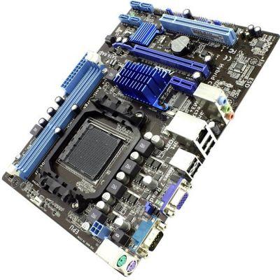 Материнская плата ASUS SocketAM3+ < AMD 760G > PCI-E+SVGA+GbLAN SATA RAID MicroATX 2DDR-III (RTL)