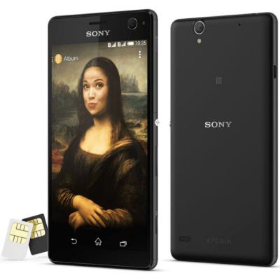 Смартфон Sony Xperia C4 Dual E5333BLK 1296-9393