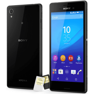 �������� Sony Xperia M4 Aqua Dual 3G LTE 1293-9134 E2333BLK