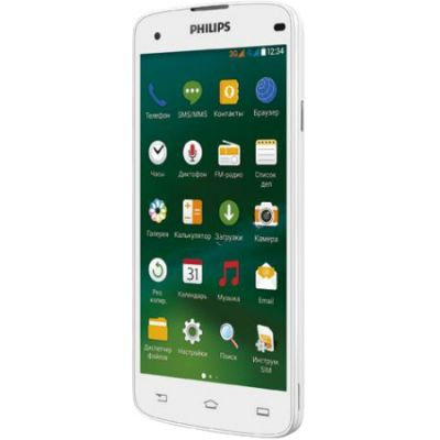 Смартфон Philips Xenium I908 White 8712581729646