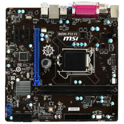 ����������� ����� MSI B85M-P33 V2