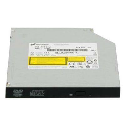 LG Внутренний привод DVD-ROM LG DTB0N 12.7mm черный SATA slim oem DTB0N