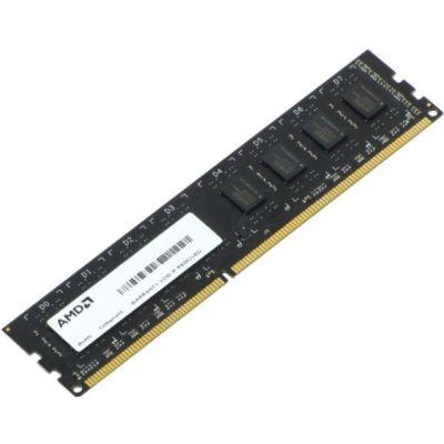 Оперативная память AMD DIMM DDR3 2Gb 1333MHz unbuffered OEM R332G1339U1S-UO