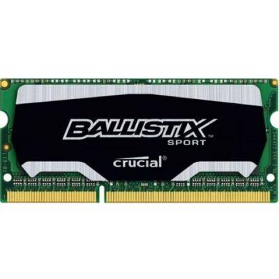 ����������� ������ Crucial SO-DDR3 4Gb 1600MHz BLS4G3N169ES4CEU