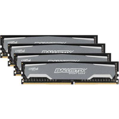 ����������� ������ Crucial DDR4 4x8Gb 2400MHz RTL PC4-19200 CL16 DIMM 288-pin 1.2� BLS4C8G4D240FSA