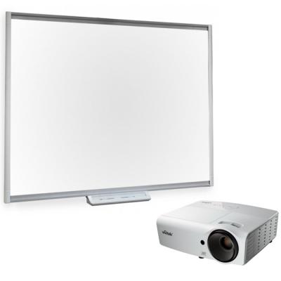 SMART Technologies Комплект проектор Vivitek D552 + интерактивная доска SBM680 SMART Technologies