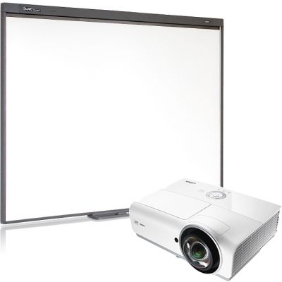 SMART Technologies Комплект проектор Vivitek DX881ST + интерактивная доска SB480