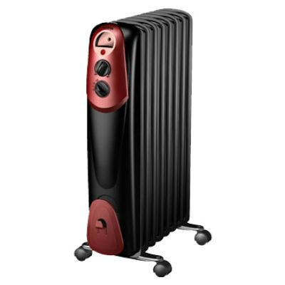 Радиатор Marta MT-2422 black red