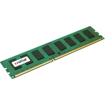 Оперативная память Crucial DDR3 8Gb 1600MHz 1 RTL (PC3-12800) CL11 Unbuffered UDIMM 240pin CT102464BA160B